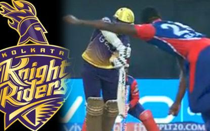 IPL තරඟයේ Kolkata Knight Riders කණ්ඩායමට ජය…