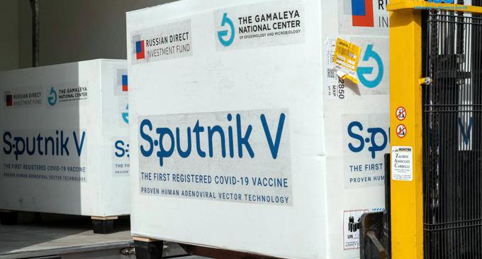 Sputnik V එන්නත් මාත්රා 120,000 ක් දිවයිනට